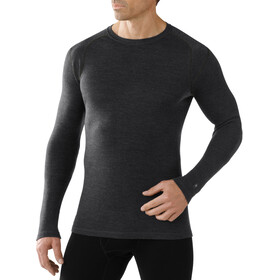 Smartwool Merino 250 Baselayer T-shirt à col ras-du-cou Homme, charcoal heather